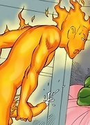 Fantastic Four cocks