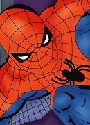 Spiderman fucking treated and tied Catwoman