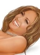 Jennifer Lopez shows bush