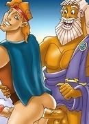 Greek queer hero Hercules